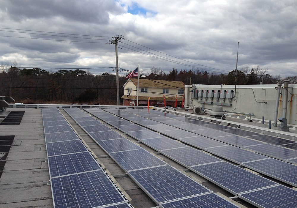 Solar Installation at East Dover Fire Company in Toms River NJ